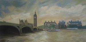London Landscape by Arisa Tabaku