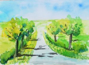 Moor lane by Brian Widdowson