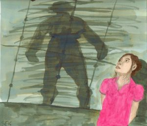 Looming (Or) Modern Girl Caught In A Film Nior Tragedy by John Severino