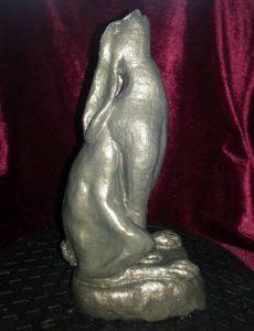moon gazeing hare side veiw by VJ Francis