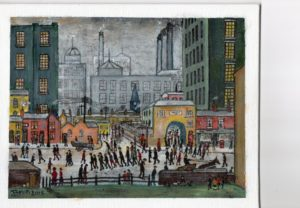 Lowry 'Coming home from the mill' by Brian Witty