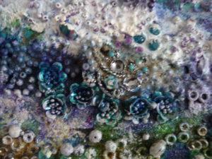 High Tide detail 1 by Lynda Jones
