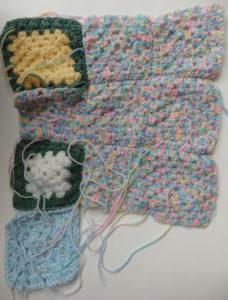 Crochet squares group 2 by Lynette Buchan