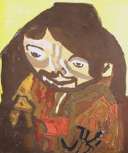 Portrait of Jordan by Mary Bevlock