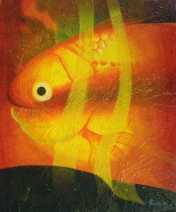 Magic fish 2 by John Lincoln