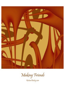 Making friends by RIKINI