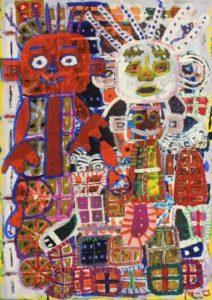 Red Man and White Man by Makoto Okawa