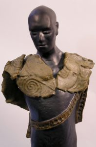 intuitive male figure by Athol Tufnell