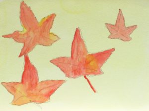 Maple Leaves by Ali