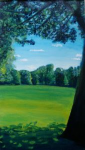 Marble Hill Park by Rowena Turney