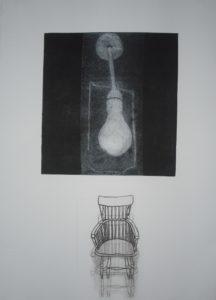 Lightbulb & Chairs 13 by Mari Kidd