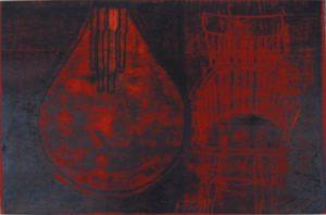 Lightbulb & Chairs 14 by Mari Kidd