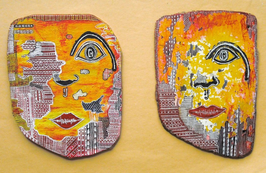 5935 || 2008 || Diptych - The Eye is the Window to the Soul || £120.00 || 4236