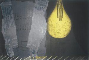 Lightbulb & Chairs 12 by Mari Kidd