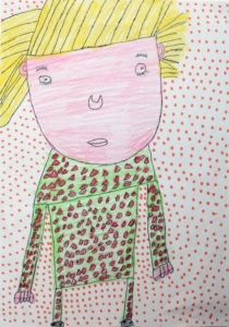 Self Portrait (3) by Maureen Callahan