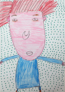 Self Portrait (5) by Maureen Callahan