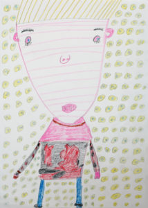 Self Portrait (8) by Maureen Callahan