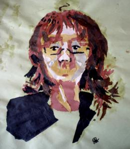 Collage Portrait by Lyeekha