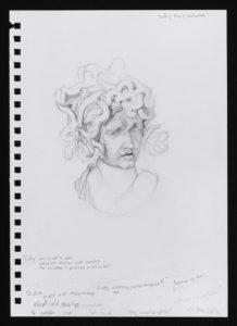 Medusa (after Bernini) by Natalie Papamichael