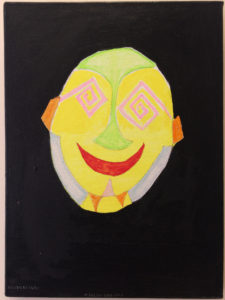 Mellow Eyed Face by Aquinas Okell