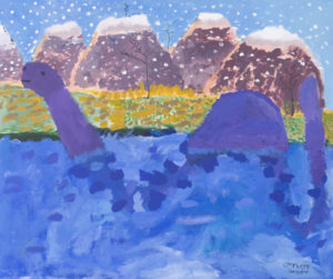 Loch Ness Monster by Poppy Field