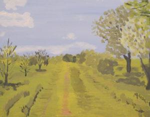Merrions Wood Summer by Joy Turner