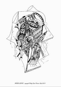 MESH HEAD by Automatic Biro Art
