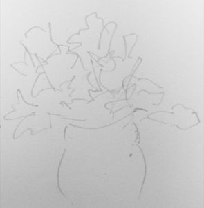 Flowers Study 2 by Paul Donald