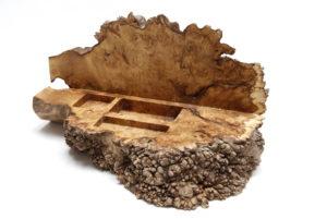 Burr Acacia Box by Sue Burbidge