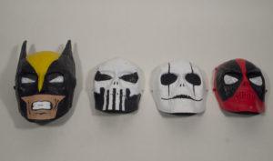 masks by Michael Flood