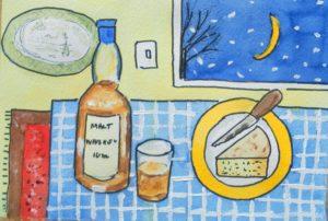 Midnighr Banquit by Brian Widdowson
