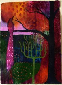 Midnight Garden by Birdie