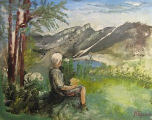 Peace in Wolfgangsee by Michael Spencer