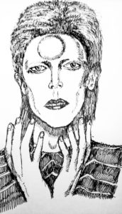 David Bowie by Temperance