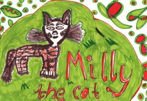 Milly the cat by Sarah Watson