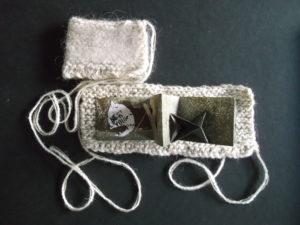 Mini Nest Artist Book by carrie scott-huby
