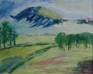 Misty Mountain by Tom Paine