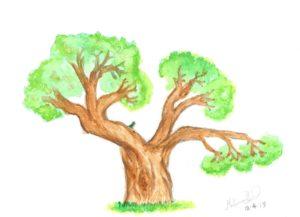 Bird in tree by Mohammad Shakil