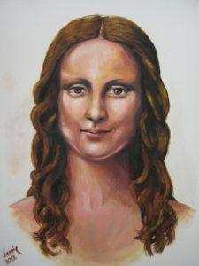 21st Century Mona by James Trueman