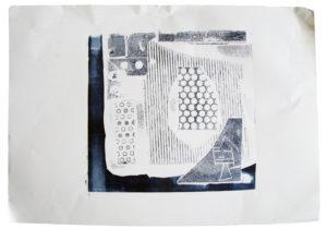 Monoprint by Maximillian