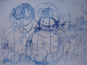 Monoprint 1 by Alan Critchett