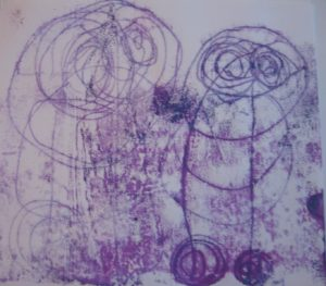 Monoprint 4 by Alan Critchett