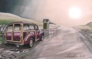 Morris 1000 series 2 1954 by John Lowerson