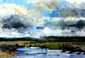 Morston Quay by Brian Ashpool