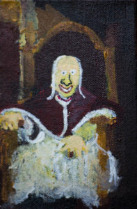 Mortimer as Pope Innocent VII. After Lawrence. by Colin Cameron