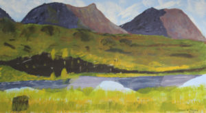 Mountain Scene by Bernard Parker