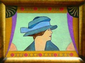 Mrs Dalloway Painting. by SeaSideSean
