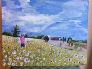 Playing at Croome Park by Michael Spencer