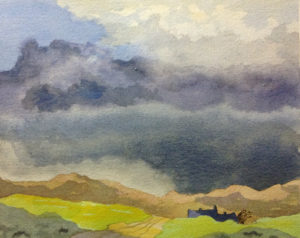 Mucky Weather over Fell View by Geof