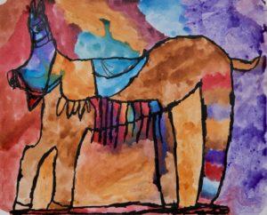 Painted Horse by Nicholas Selway